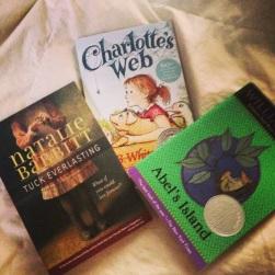 Some of my favorite YA novels.
